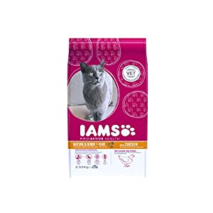 IAMS IAMS ProActive Health Mature & Senior Rich in Chicken 2,55 kg, Comida para gatos