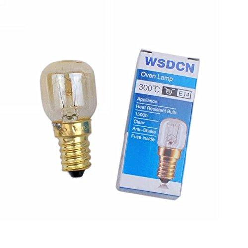 Wsdcn E14 T22 15w 12v Oven Bulb Oven Lamp Heat Resistant Bulb 300 C Buy Online In Uae Hi