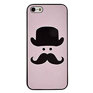 Case for iphone 5/5S - Beard Pattern Hard Case for iPhone 5/5S