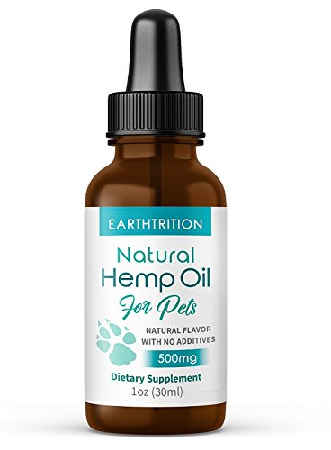 Pet Hemp Oil By Earthtrition New Product 500mg 100