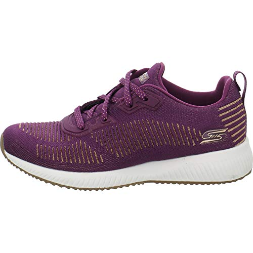 Skechers Low Squad League Glam Rot Bobs Sneakers pRpwHqv