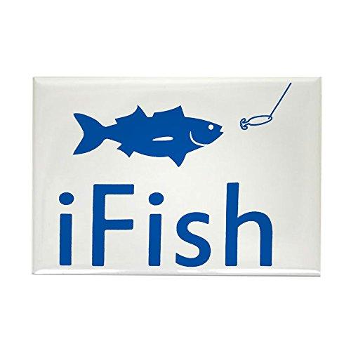 Rectangle Magnet iFish Fishing -