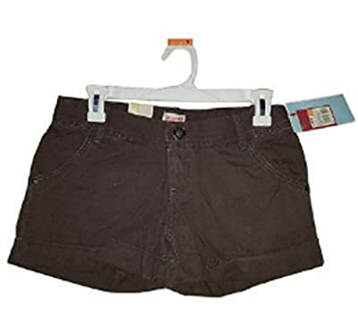 Mossimo Brown Women's Lowest Rise Shorts - NTW