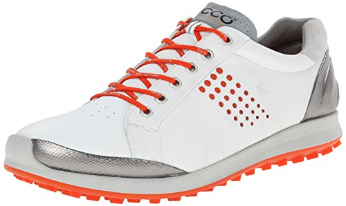ECCO Men's Biom Hybrid 2 Golf Shoe,White,46 EU/12-12.5 M US