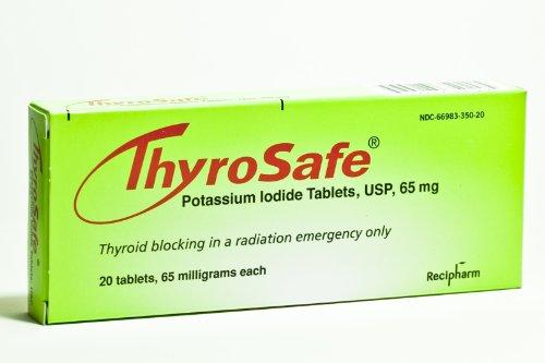 Comprimés Thyrosafe iodure de