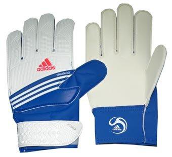 adidas F50 Training Goalkeeper Gloves BlueWhite 616065 Size