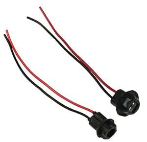 AERZETIX: 2 x Portalámparas para bombillas T10 W5W W3W de estacionamiento para coche, motocicleta, camion