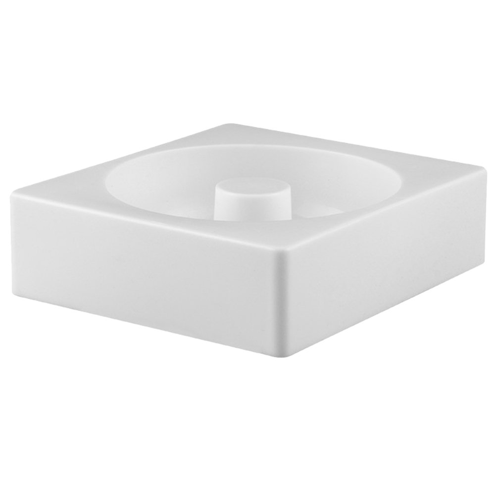OUNONA Silicone Donuts Mold,Nonstick Donut Pans Donut Baking Pan For Oven/Microwave/Dishwasher(White) by OUNONA (Image #2)