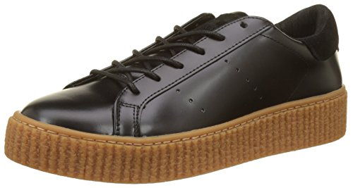 No Picadilly Mastic Femme Baskets Sneaker Beige Basses Name Noir Black Box Sole ZwH6Zq