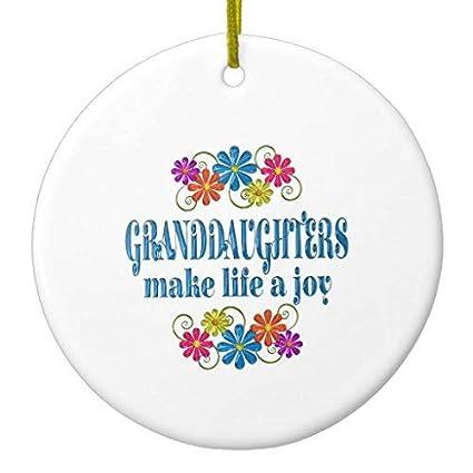 Amazon Com Arthuryerkes Granddaughter Joy Christmas Ornament
