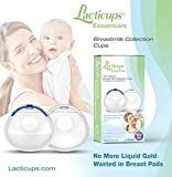 Lacti-Cups Originals, Breast Milk Collectors, Milk Savers, Breast Shells, Nursing Cups, Protect Sore Nipples for Breastfeeding, Collect Breastmilk Letdown, BPA Free, Soft and Flexible Silicone