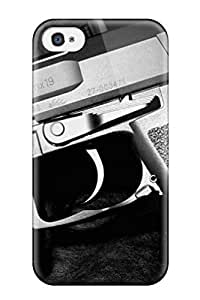 AzyWuTY84hotAl Faddish Fantastic Guns S Case Cover For Iphone 4/4s