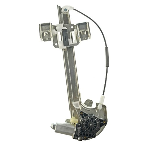 A-Premium Power Window Regulator with Motor for Buick LeSabre 2000-2005 Rear Left Driver Side