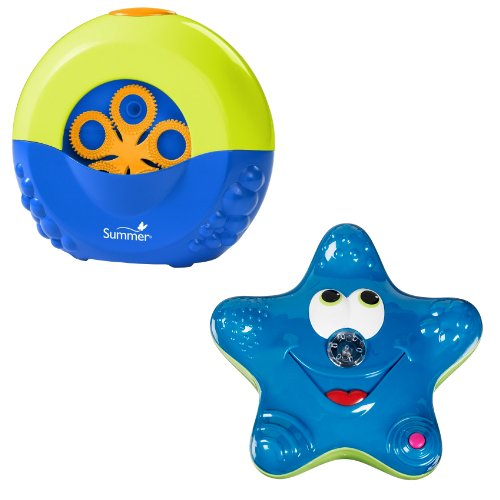 Summer Infant Tub Time Bubble Maker with Munchkin Star Fountain, Colors May Vary (Bubble Maker For Babies compare prices)