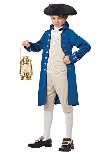 (California Costumes Paul Revere Boy Costume, One Color,)