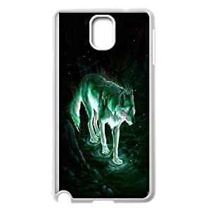 Wolf & fox Design Pattern Hard Skin Back Case Cover Potector for For Samsung Galaxy Case Note 4 color8