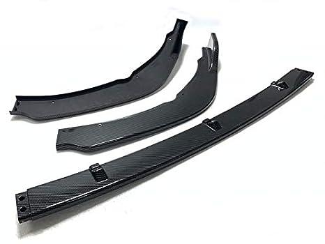 Carbon Fiber Pattern Front Bumper Spoiler Lip Splitter Body Kit Set Fit for 2014-2017 Infiniti Q50