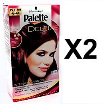 Coloration cheveux palette deluxe