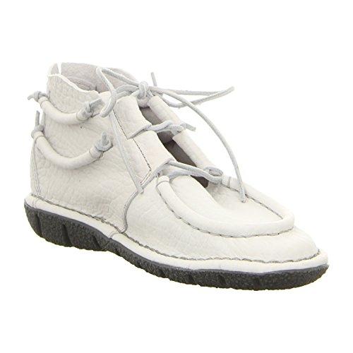 dkode 12536.008 - Zapatos de cordones para mujer blanco