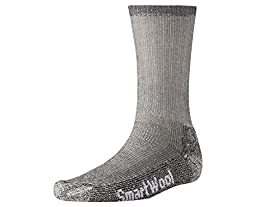 SmartWool Trekking Heavy Crew Socks (Gray) Medium