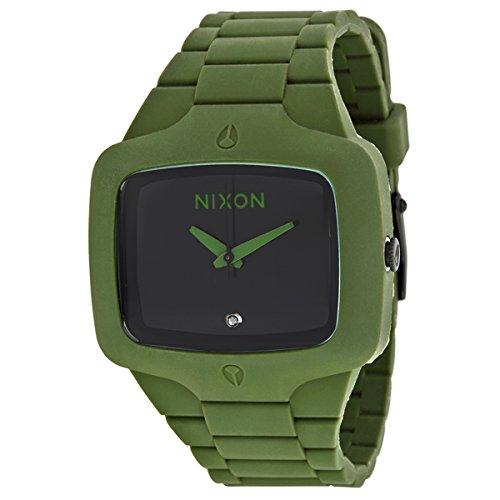nixon-player-quartz-rubber-and-silicone-watch-colorgreen-model-a139-1042