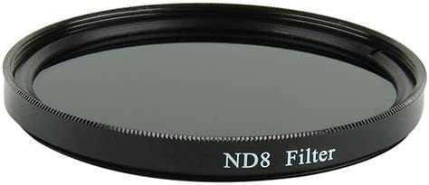 Optics Nc ND8 Neutral Density 37mm for Sony Handycam HDR-UX7 Multicoated Glass Filter
