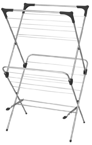 Basics Gullwing Clothes Drying Rack White