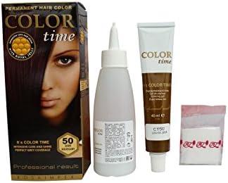 Pack Ahorro de 2 x Tintes Permanente para el Cabello de Color Caoba Oscuro 50