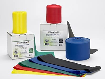 Thera-Band Latex Free Exercise Bands - 25 Yards from Theraband