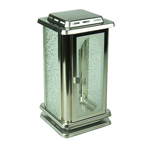 Designdu tombeau - Lampes funéraire Royal en acier inoxydable, Lampe funéraire, Lanterne Funéraire, Lampe tombeau, Lampe de Cimetière. Lampe funéraire Lanterne Funéraire Lampe de Cimetière. designgrab