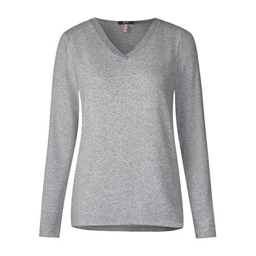 T-Shirt Kurzarm tailliert Grün Forest Spitze short sleeve Elasthan Viskose