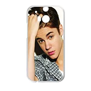 Justin-Bieber HTC One M8 Cell Phone Case-White Ybfws