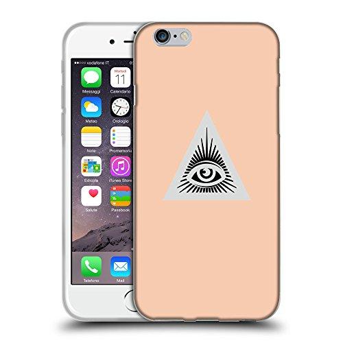 "GoGoMobile Coque de Protection TPU Silicone Case pour // Q09070604 Œil Providence 17 Abricot // Apple iPhone 6 PLUS 5.5"""