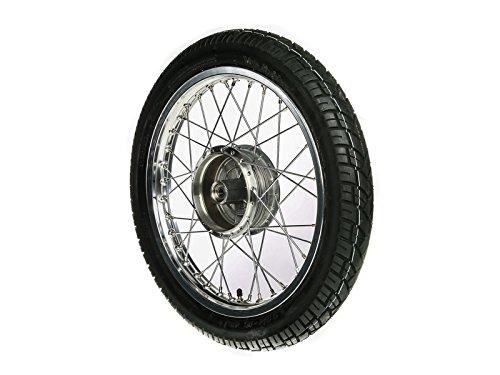 MZA Komplettrad vorn - Alufelge - 1, 6 x 16' - Edelstahlspeichen + Reifen - Vee Rubber 094 vorn 6 x 16 - Edelstahlspeichen + Reifen - Vee Rubber 094 vorn MZA Meyer-Zweiradtechnik GmbH