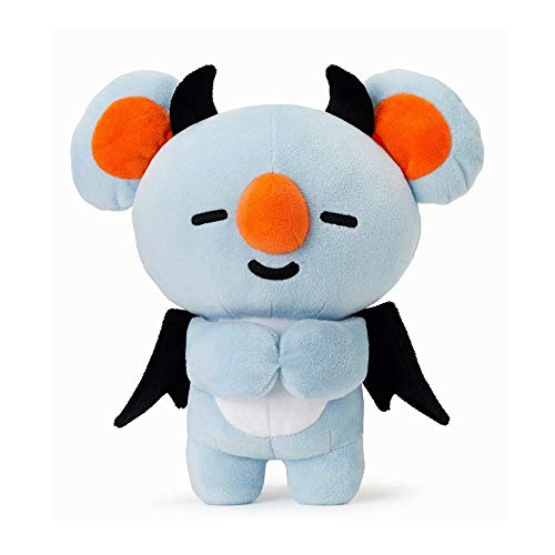 Misisi BTS Bangtan Boys Cute Cartoon Doll Plush Toy Soft Stuffed Doll for Halloween -