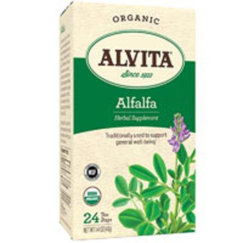 Alvita Caffeine Free Alfalfa Leaf Tea - 24 Tea Bags
