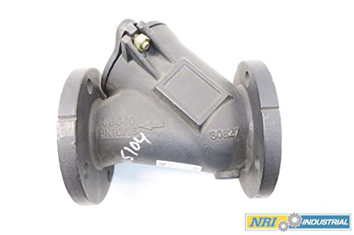HDL 53080802098 3 IN DN80 IRON FLANGED BALL CHECK VALVE D561720