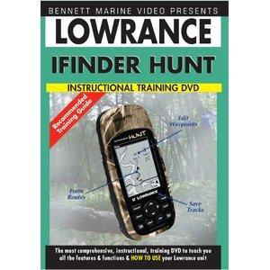 Bennett Marine Video N2341DVD DVD, Lowrance Ifinder Hunt, ()
