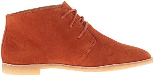 Clarks Phenia Desierto de zapatos - Mujer Rust Vintage Suede