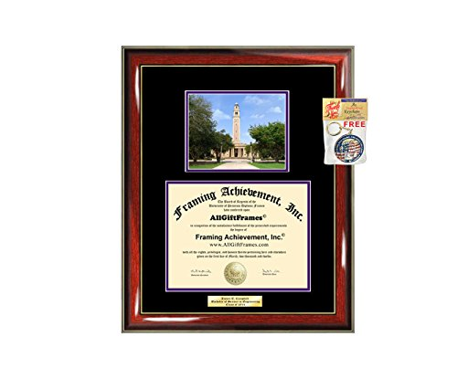 - Diploma Frame Louisiana State University LSU Graduation Gift Idea Engraved Picture Frames Engraving Degree Large Graduate Bachelor Masters MBA PHD Doctorate School