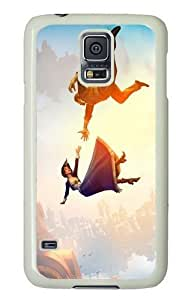 Samsung Galaxy S5 Case and Cover - Bioshock PC Hard Case Cover for Samsung Galaxy S5 White