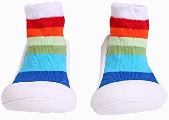 045117fa8cf Yulan bebé niños calcetines de algodón Calcetines de interior  antideslizante cálido calcetines Zapatillas zapatos botas suelo calcetines  para 0 – 24 meses ...