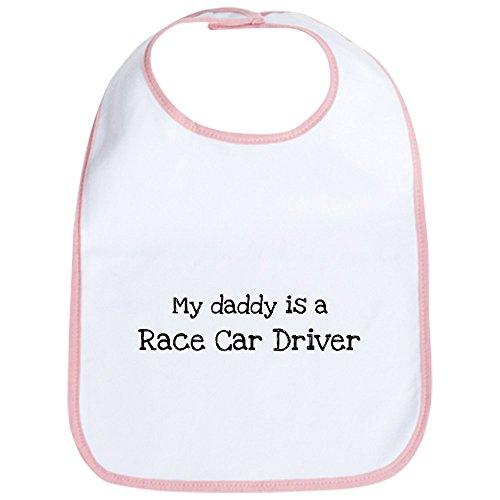 (CafePress - My Daddy is a Race Car Driver Bib - Cute Cloth Baby Bib, Toddler Bib)