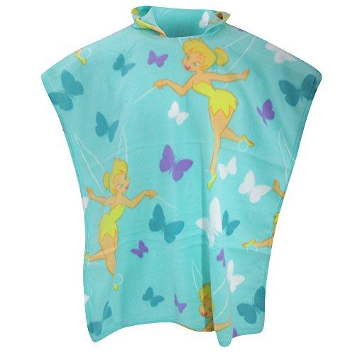 Disney Fairies Tinkerbell Childrens Girls Imagine Fleece Poncho (28in x 63in) ()