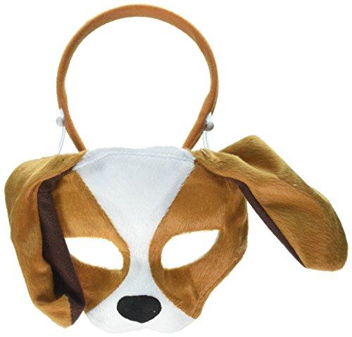 Dog Nose Mask (Forum Novelties Deluxe Plush Puppy Dog Animal Half)