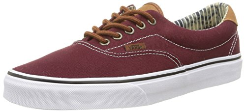 Denim Baja Era amp;l Zapatilla Port Rojo 59 Stripe Adulto C Vans Royale Unisex t7qwwC