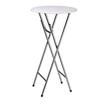 Lifetime Garden Foldable Bar Table, Cream, 60 X 60 X 44 Cm 871125234937