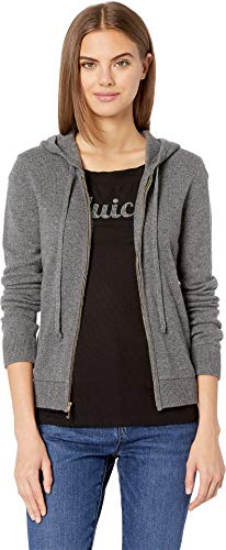 Juicy Couture Women's Juicy Pull Jacket Worsted Grey Cashmere Medium