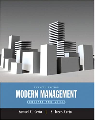 Modern Management Concepts And Skills Plus Mymanagementlab With