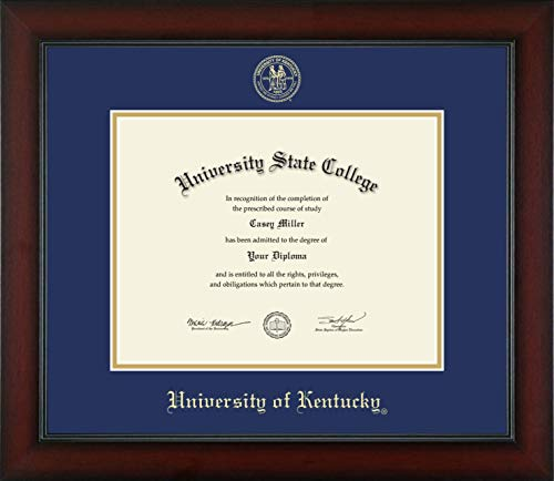 - University of Kentucky - Officially Licensed - Gold Embossed Diploma Frame - Diploma Size 11